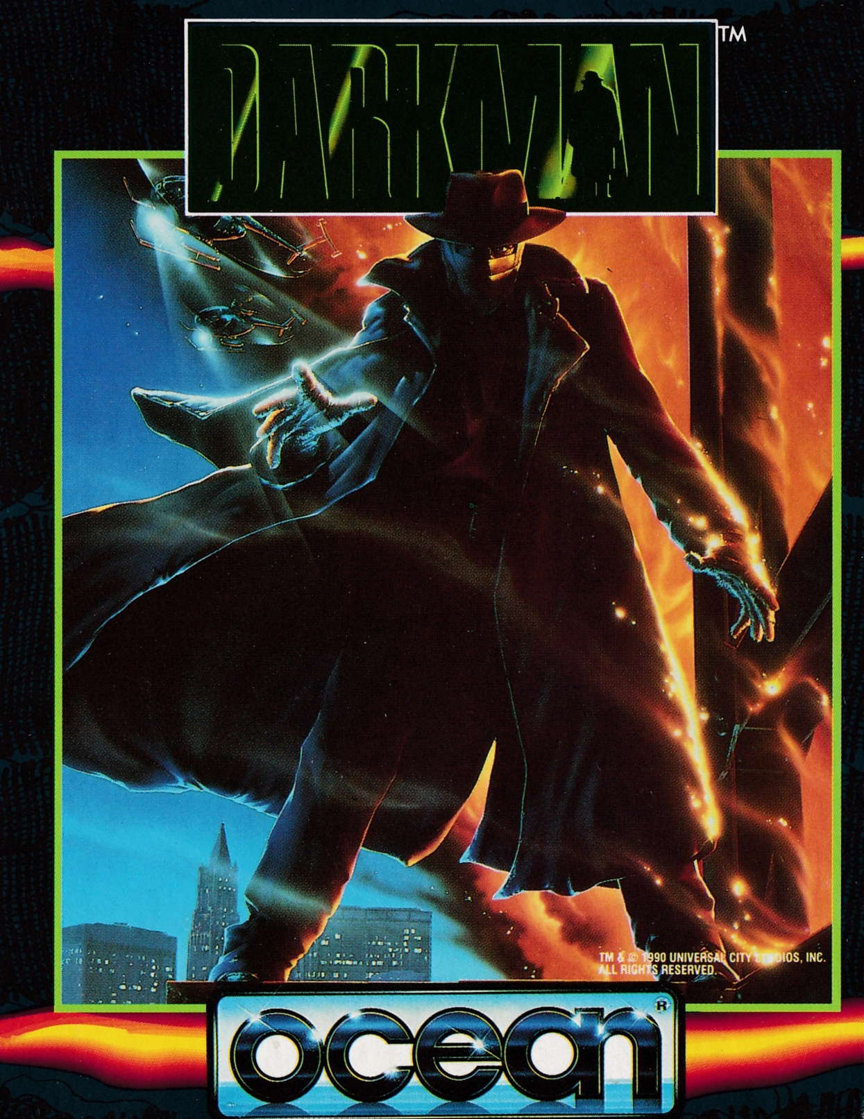 cover of the Amstrad CPC game Darkman  by GameBase CPC