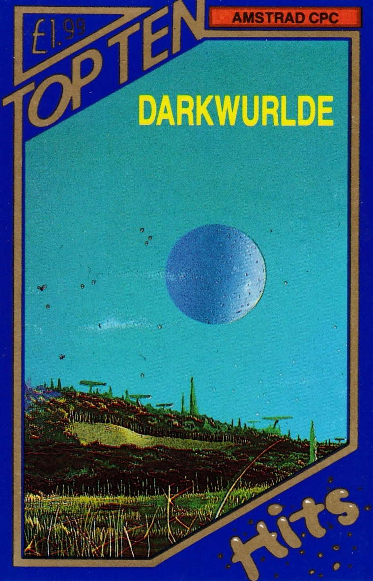 screenshot of the Amstrad CPC game Darkwurlde by GameBase CPC