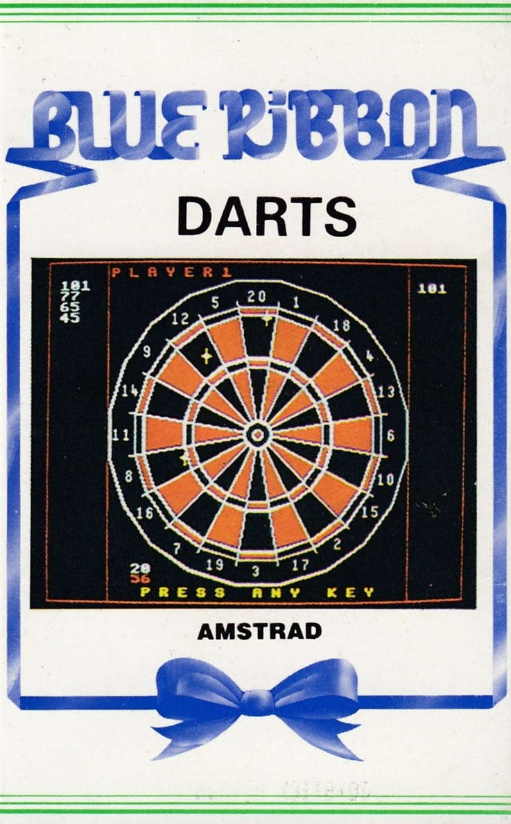 cover of the Amstrad CPC game Darts  by GameBase CPC
