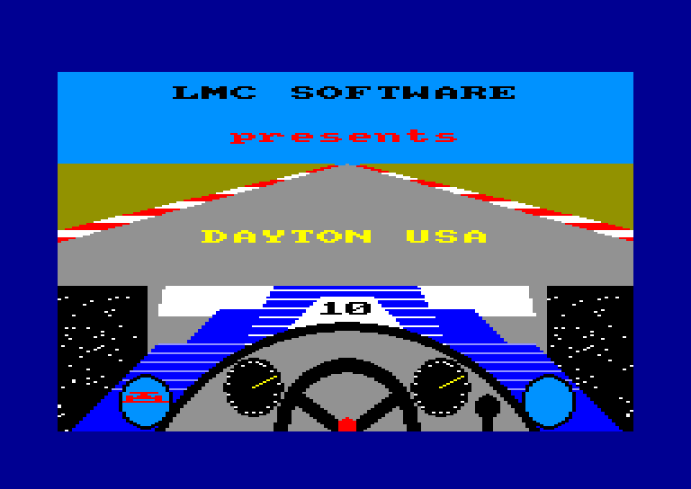 screenshot of the Amstrad CPC game Dayton U.S.A. by GameBase CPC