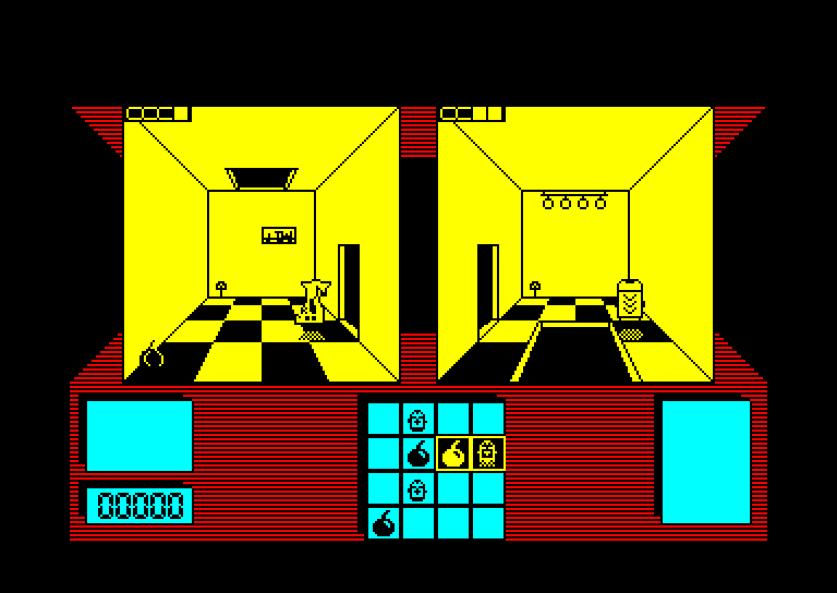 screenshot of the Amstrad CPC game Deactivators by GameBase CPC