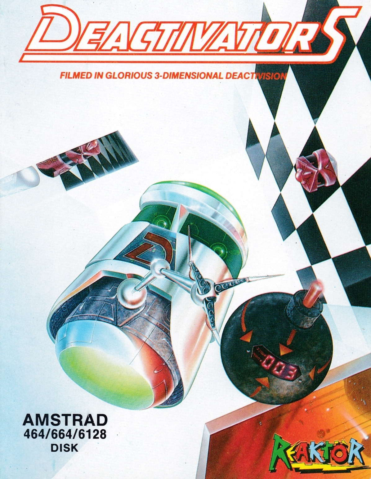 cover of the Amstrad CPC game Deactivators  by GameBase CPC