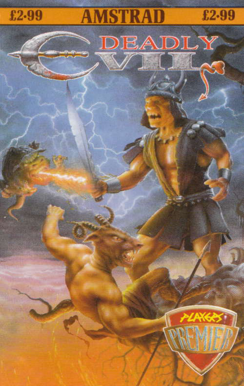 cover of the Amstrad CPC game Deadly Evil  by GameBase CPC