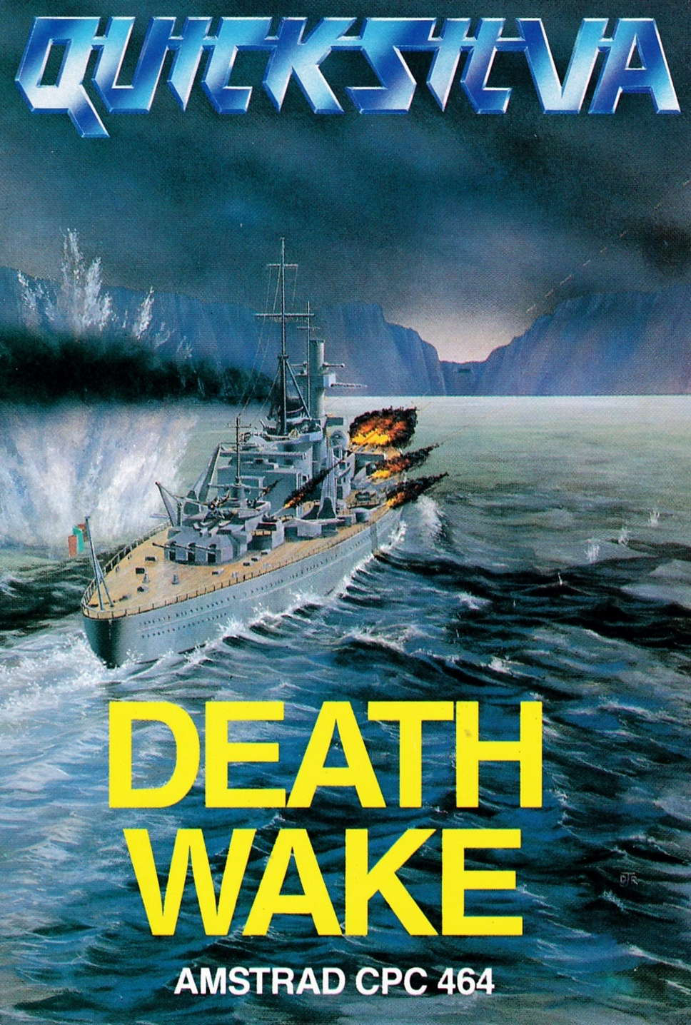 screenshot of the Amstrad CPC game Death wake by GameBase CPC