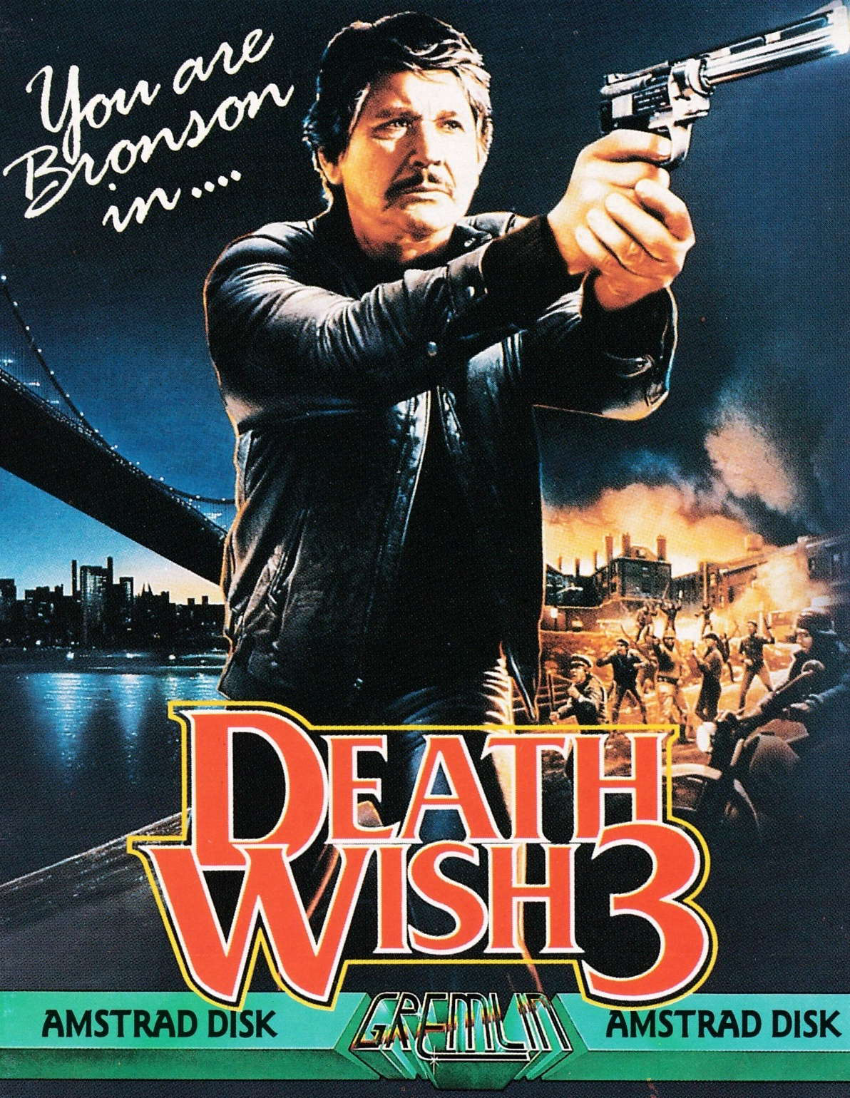 cover of the Amstrad CPC game Death Wish 3  by GameBase CPC
