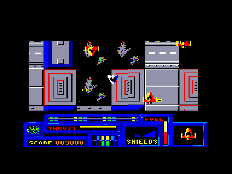 screenshot of the Amstrad CPC game Death or glory by GameBase CPC