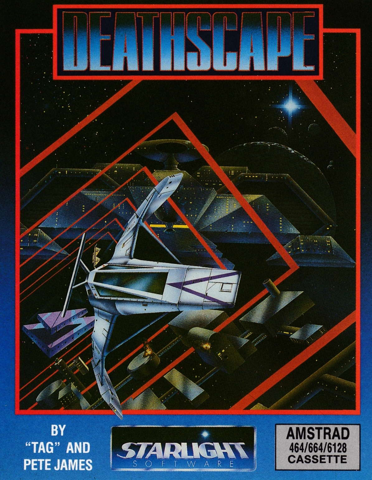 cover of the Amstrad CPC game Deathscape  by GameBase CPC