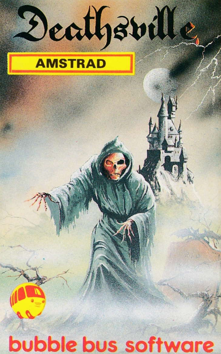 cover of the Amstrad CPC game Deathsville  by GameBase CPC