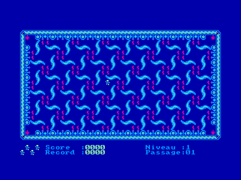 screenshot of the Amstrad CPC game Dedalos by GameBase CPC