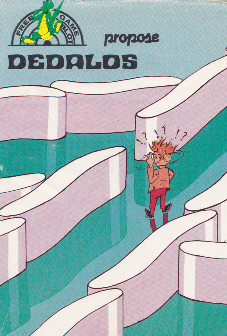 cover of the Amstrad CPC game Dedalos  by GameBase CPC