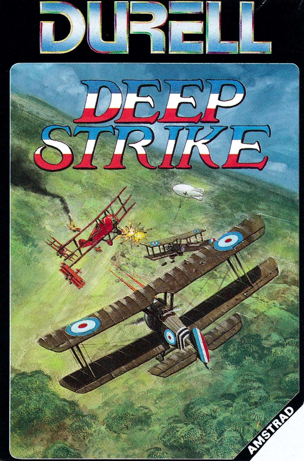 cover of the Amstrad CPC game Deep Strike  by GameBase CPC