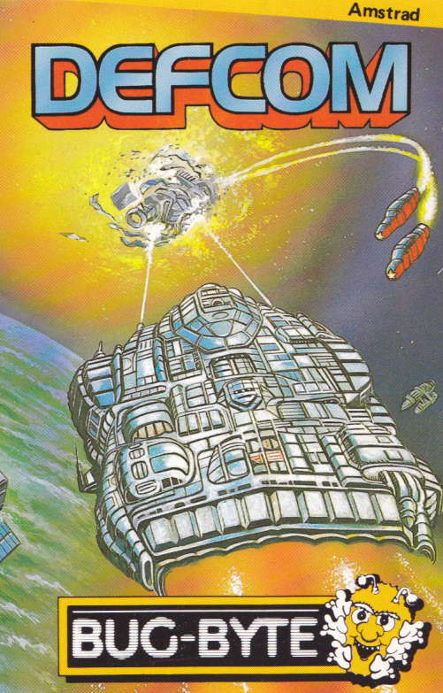 cover of the Amstrad CPC game Defcom  by GameBase CPC