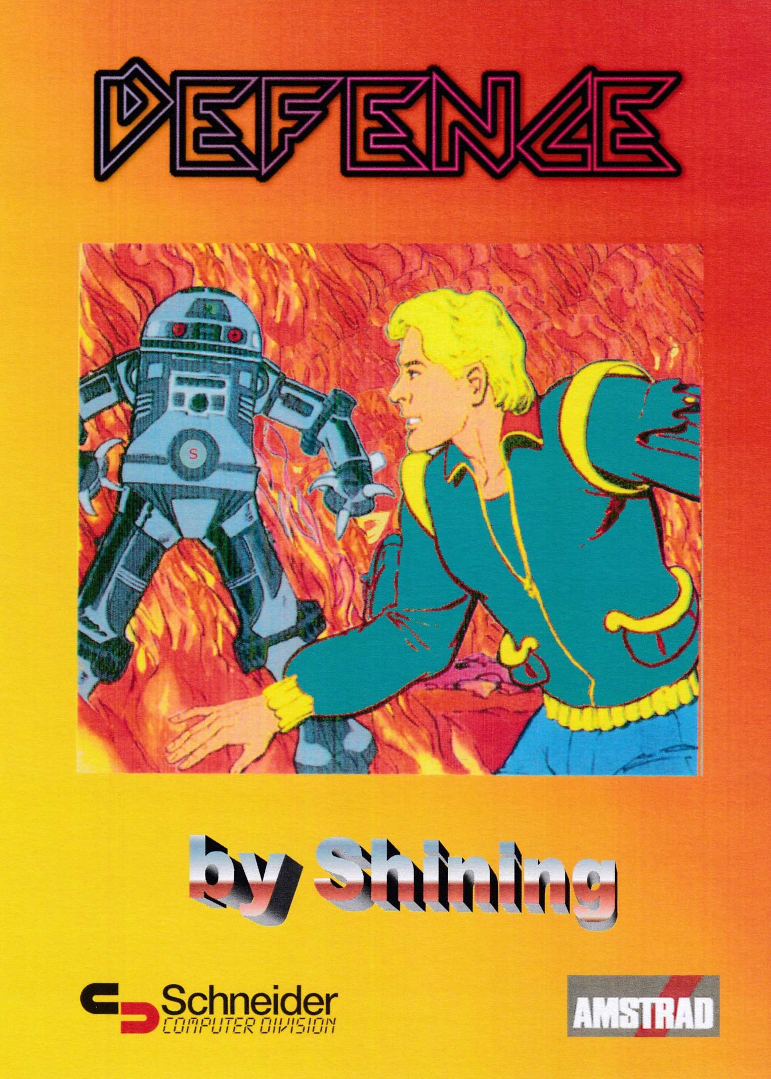 cover of the Amstrad CPC game Defence  by GameBase CPC
