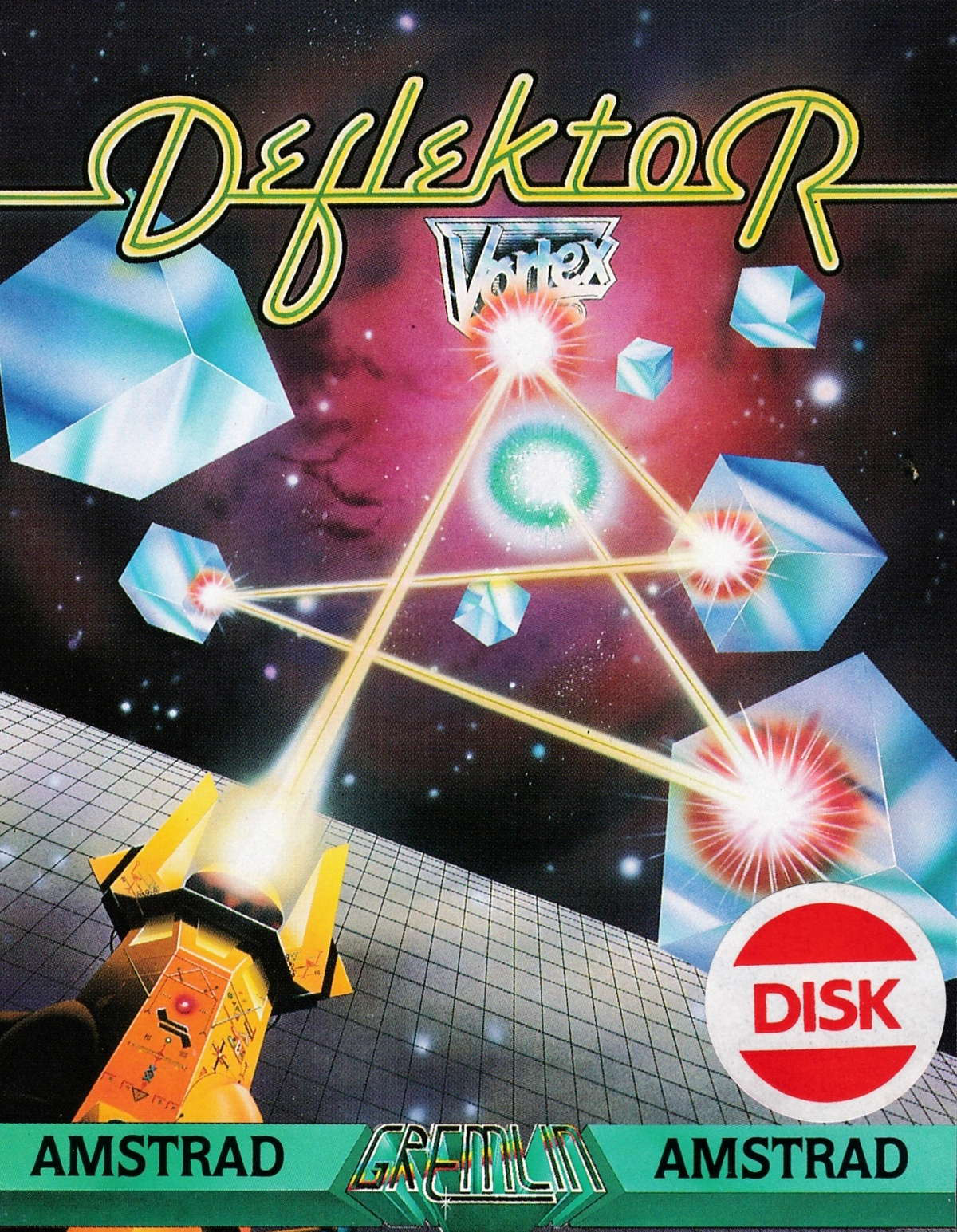 cover of the Amstrad CPC game Deflektor  by GameBase CPC