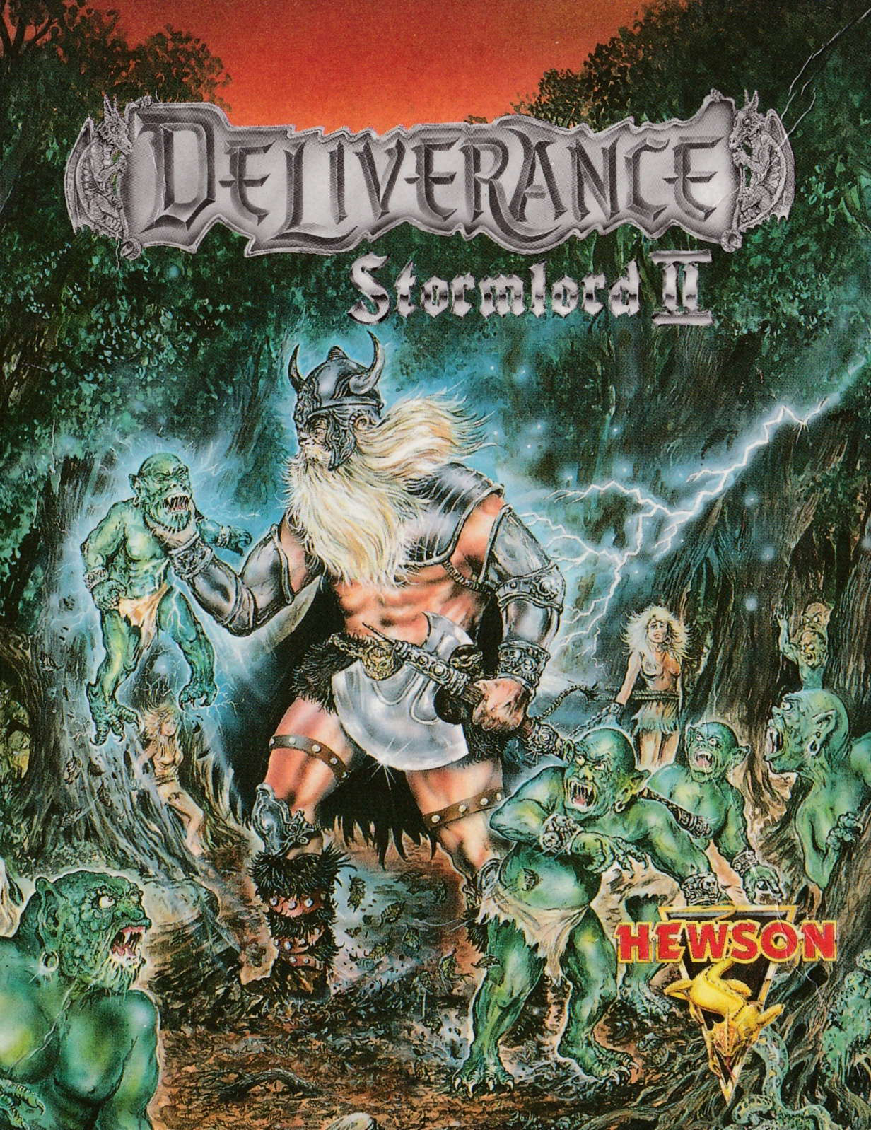 cover of the Amstrad CPC game Deliverance - Stormlord II  by GameBase CPC