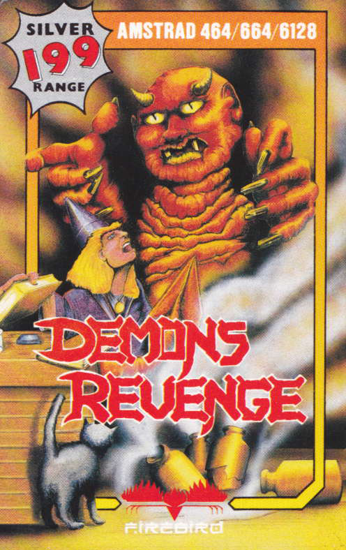 screenshot of the Amstrad CPC game Demon's revenge by GameBase CPC