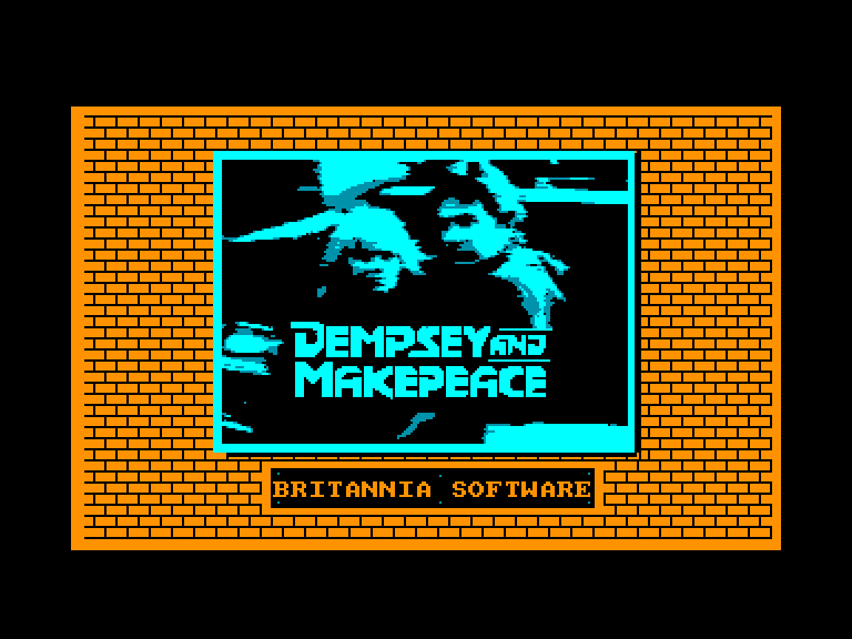 screenshot of the Amstrad CPC game Dempsey and Makepeace by GameBase CPC