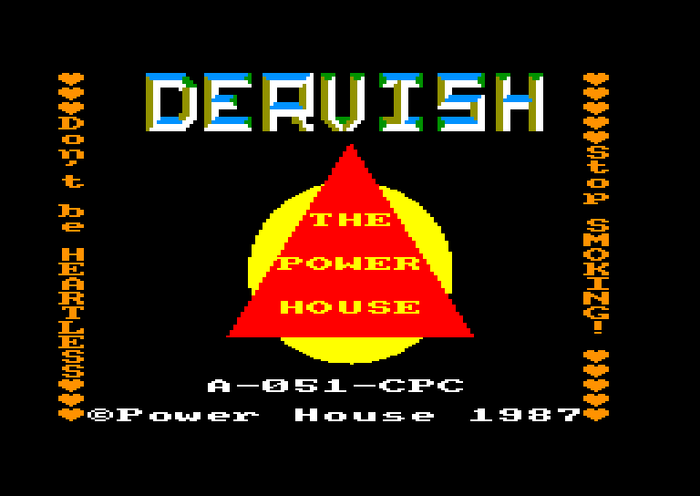 screenshot of the Amstrad CPC game Dervish by GameBase CPC