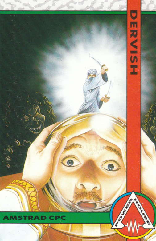 cover of the Amstrad CPC game Dervish  by GameBase CPC
