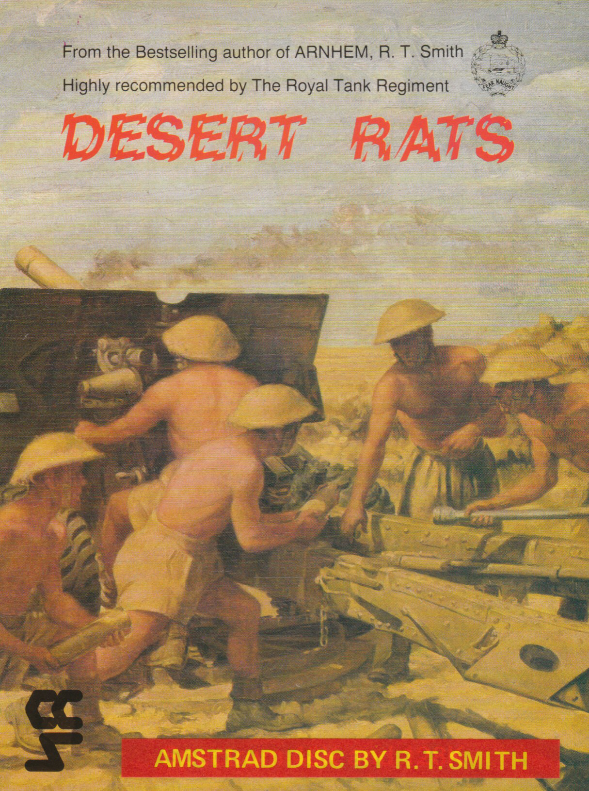 cover of the Amstrad CPC game Desert Rats  by GameBase CPC