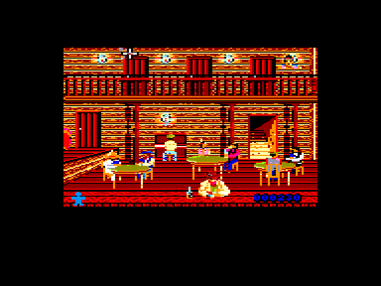 screenshot of the Amstrad CPC game Desperado 2 by GameBase CPC