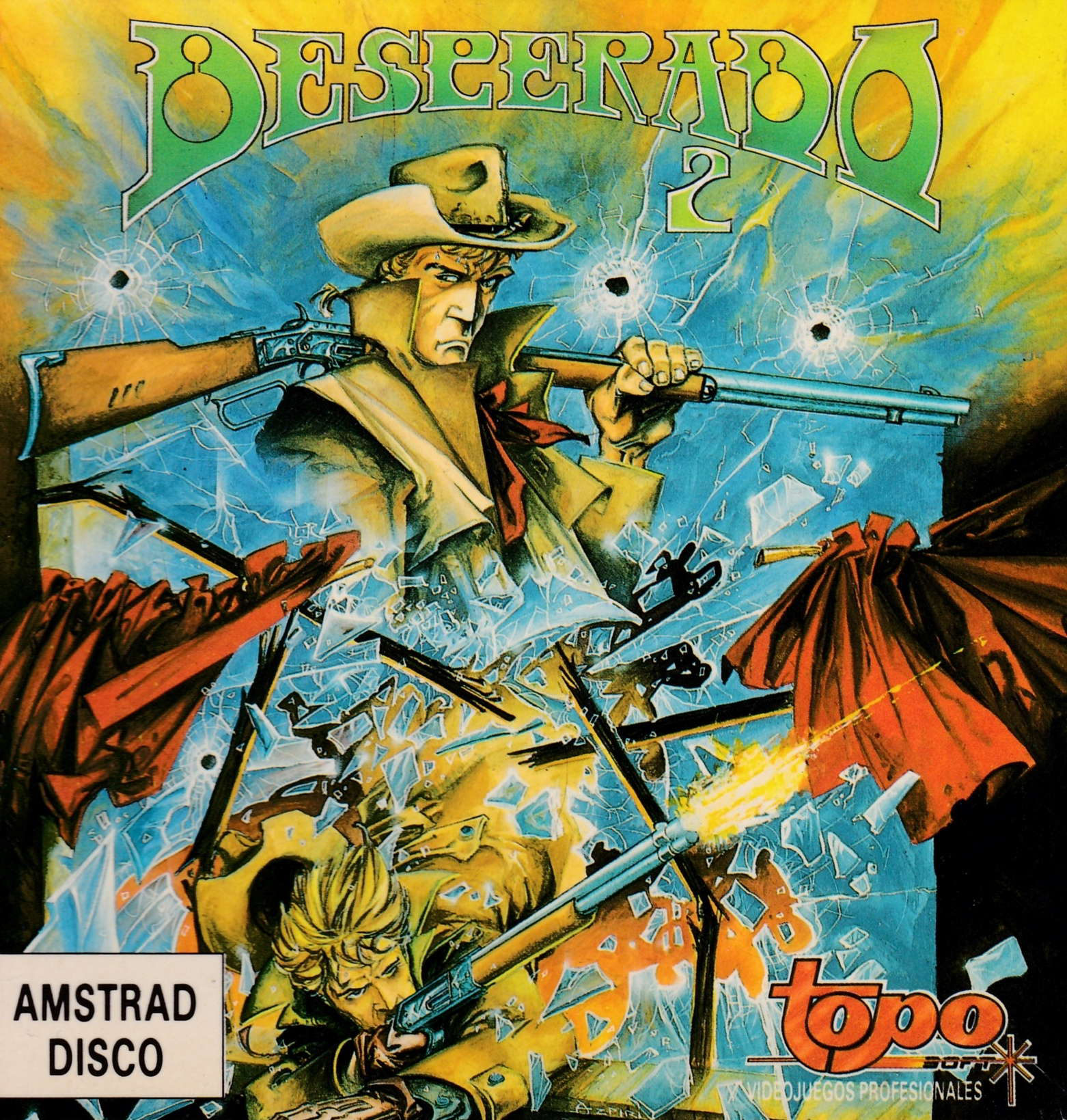 cover of the Amstrad CPC game Desperado 2  by GameBase CPC