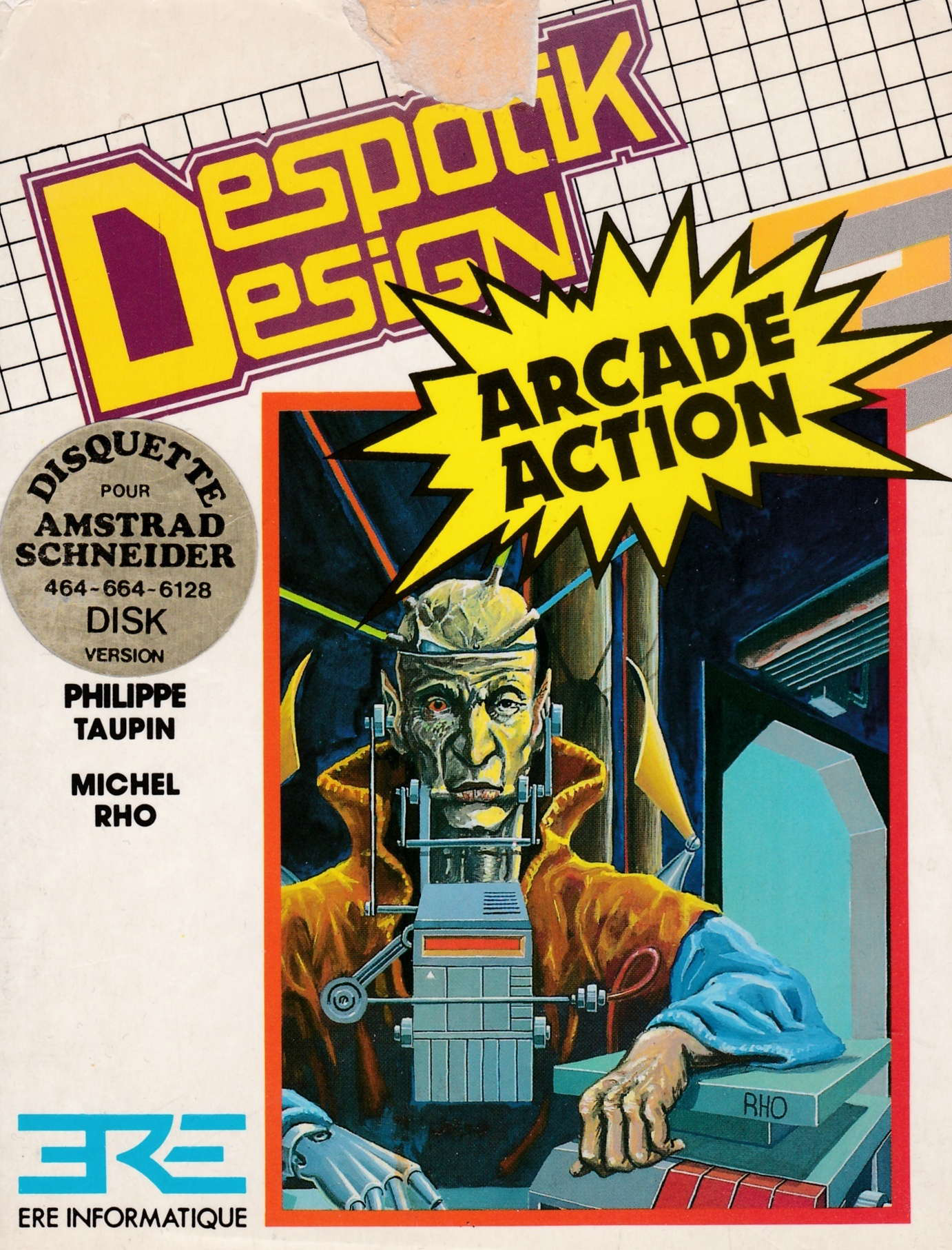 screenshot of the Amstrad CPC game Despotik design by GameBase CPC