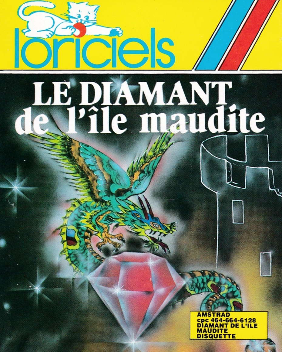 screenshot of the Amstrad CPC game Diamant de l'ile maudite (le) by GameBase CPC
