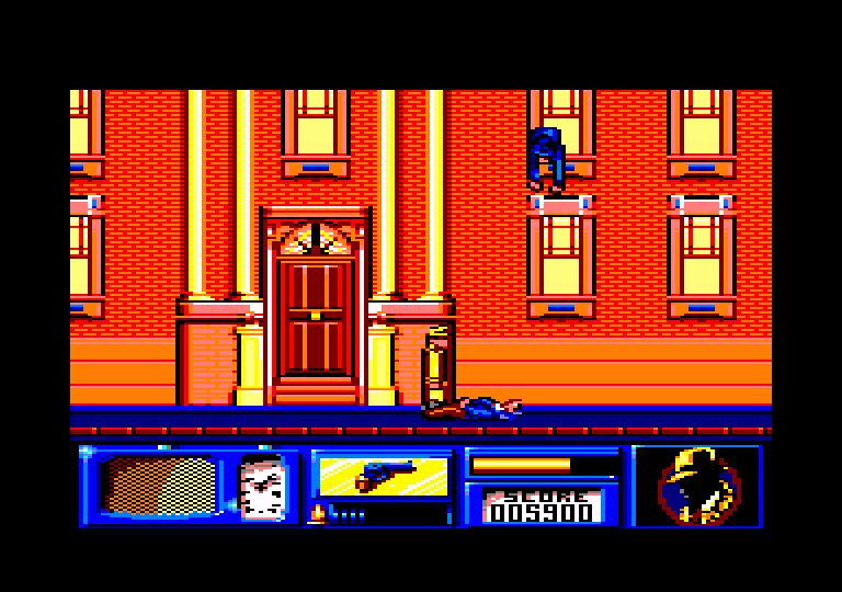 screenshot of the Amstrad CPC game Dick Tracy by GameBase CPC