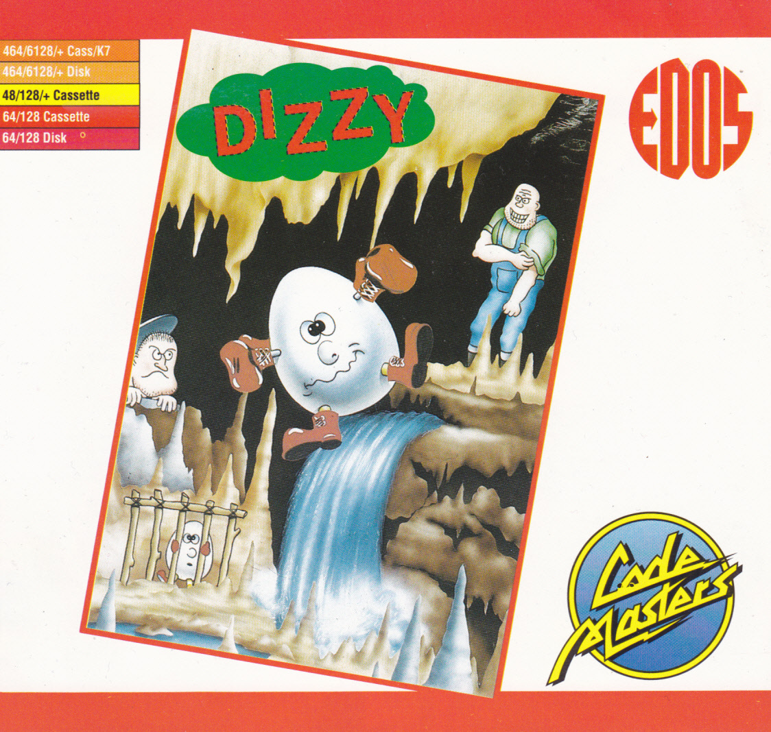 cover of the Amstrad CPC game Dizzy - The Ultimate Cartoon Adventure  by GameBase CPC