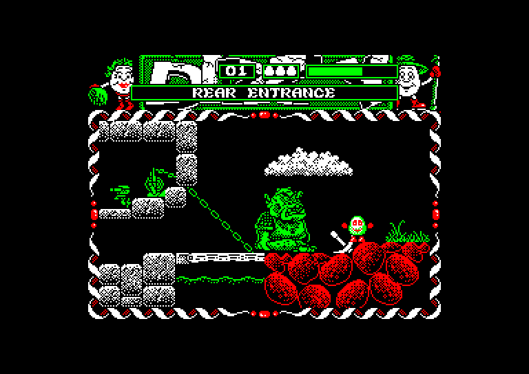 screenshot of the Amstrad CPC game Dizzy Prince of the Yolkfolk by GameBase CPC