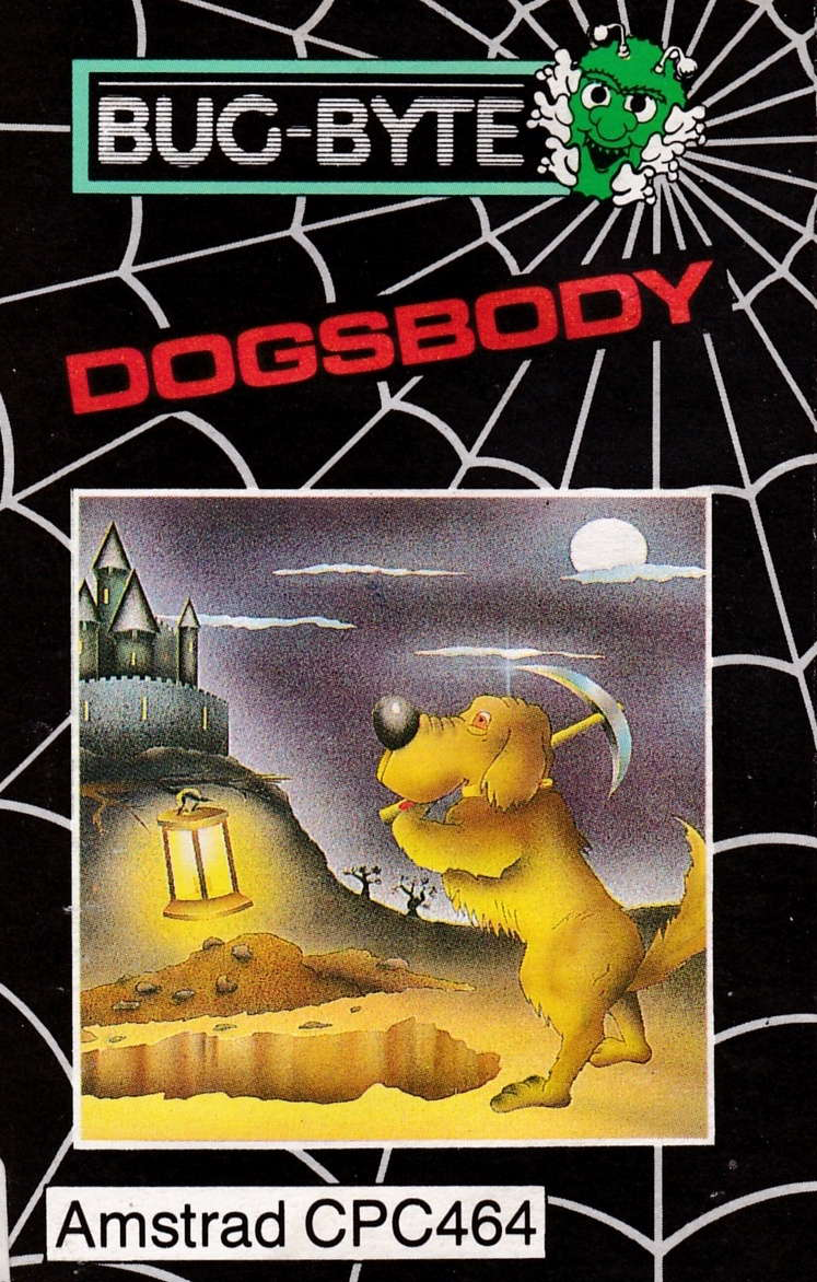 cover of the Amstrad CPC game Dogsbody  by GameBase CPC