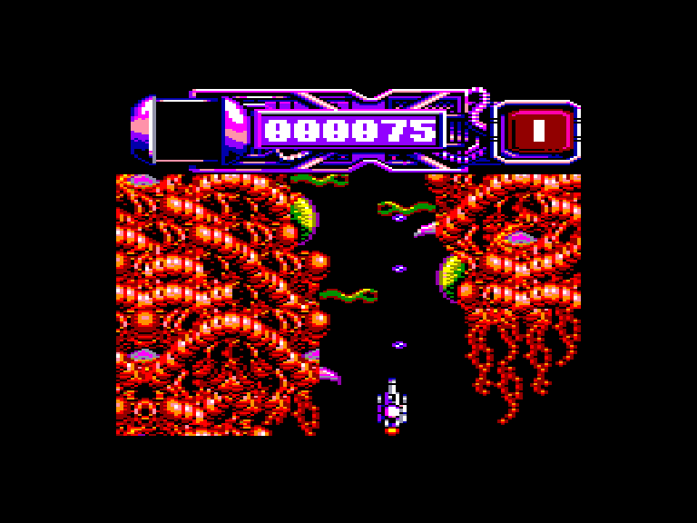 screenshot of the Amstrad CPC game Dominator by GameBase CPC