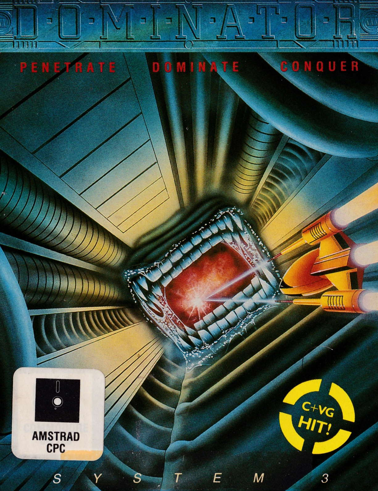 cover of the Amstrad CPC game Dominator  by GameBase CPC