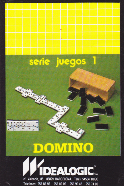 screenshot of the Amstrad CPC game Domino by GameBase CPC