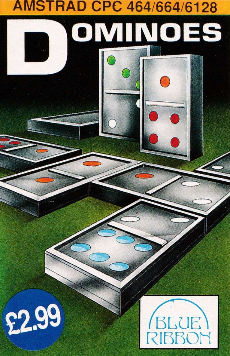 cover of the Amstrad CPC game Dominoes  by GameBase CPC