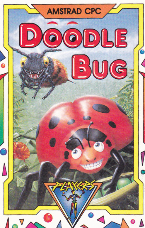 screenshot of the Amstrad CPC game Doodle bug by GameBase CPC