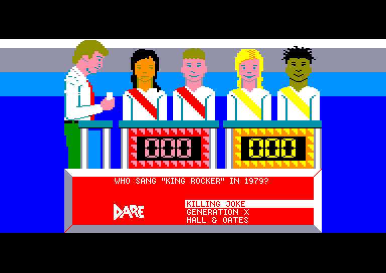 screenshot of the Amstrad CPC game Double dare by GameBase CPC