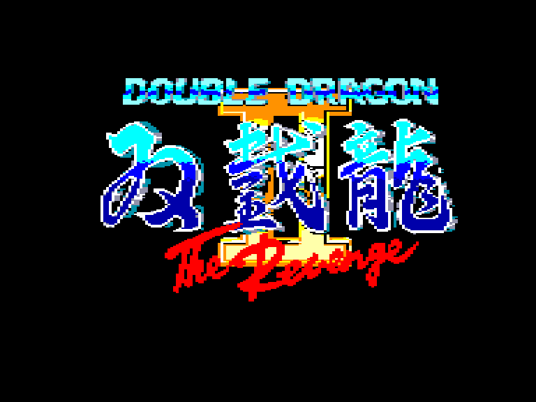 screenshot of the Amstrad CPC game Double Dragon II - The Revenge by GameBase CPC