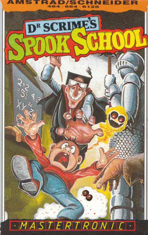 cover of the Amstrad CPC game Dr Scrime's Spook School  by GameBase CPC
