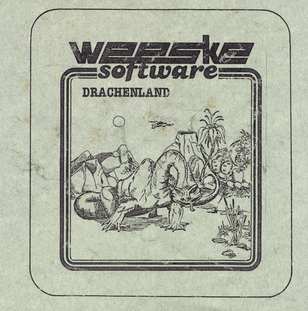 cover of the Amstrad CPC game Drachenland  by GameBase CPC