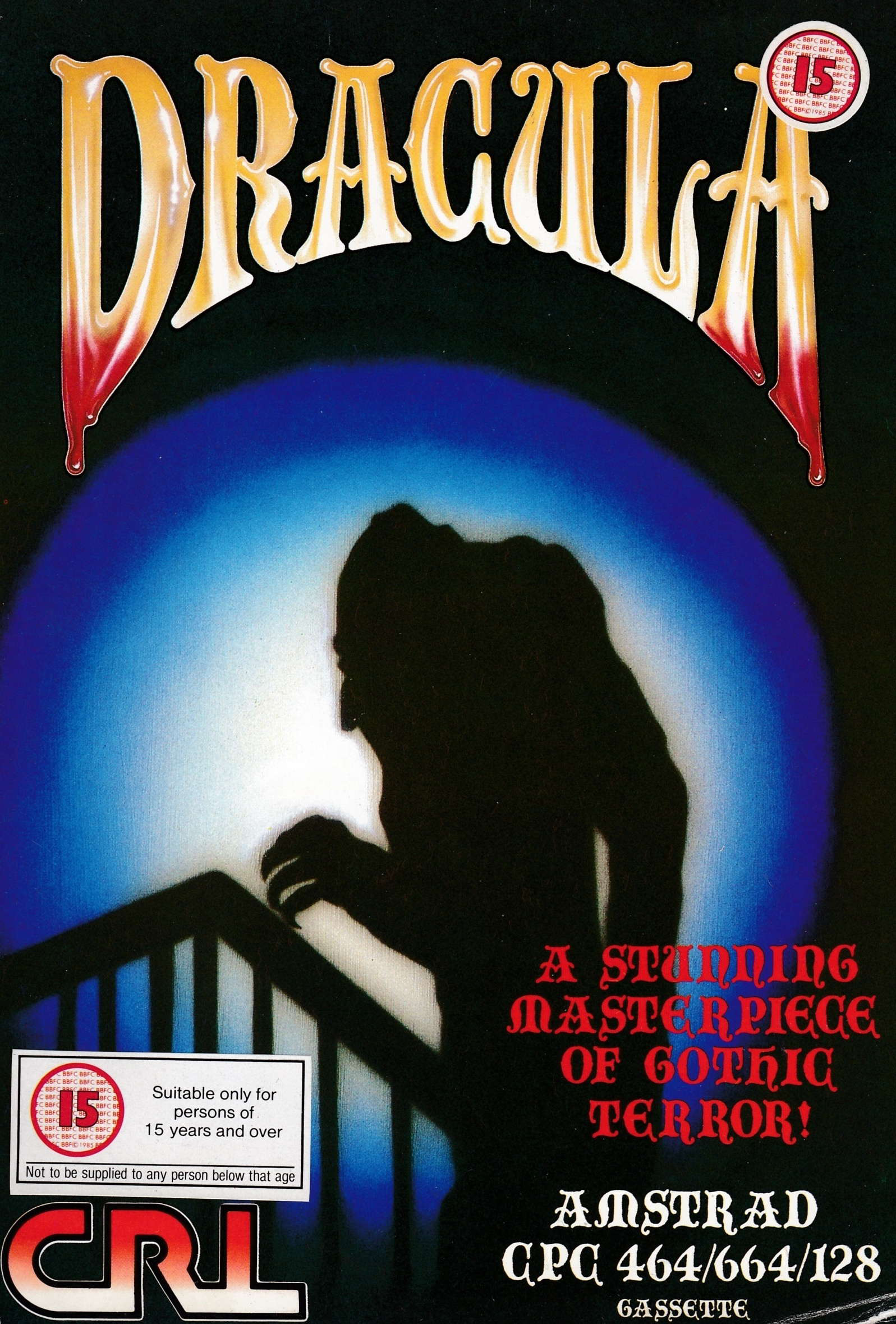 screenshot of the Amstrad CPC game Dracula by GameBase CPC