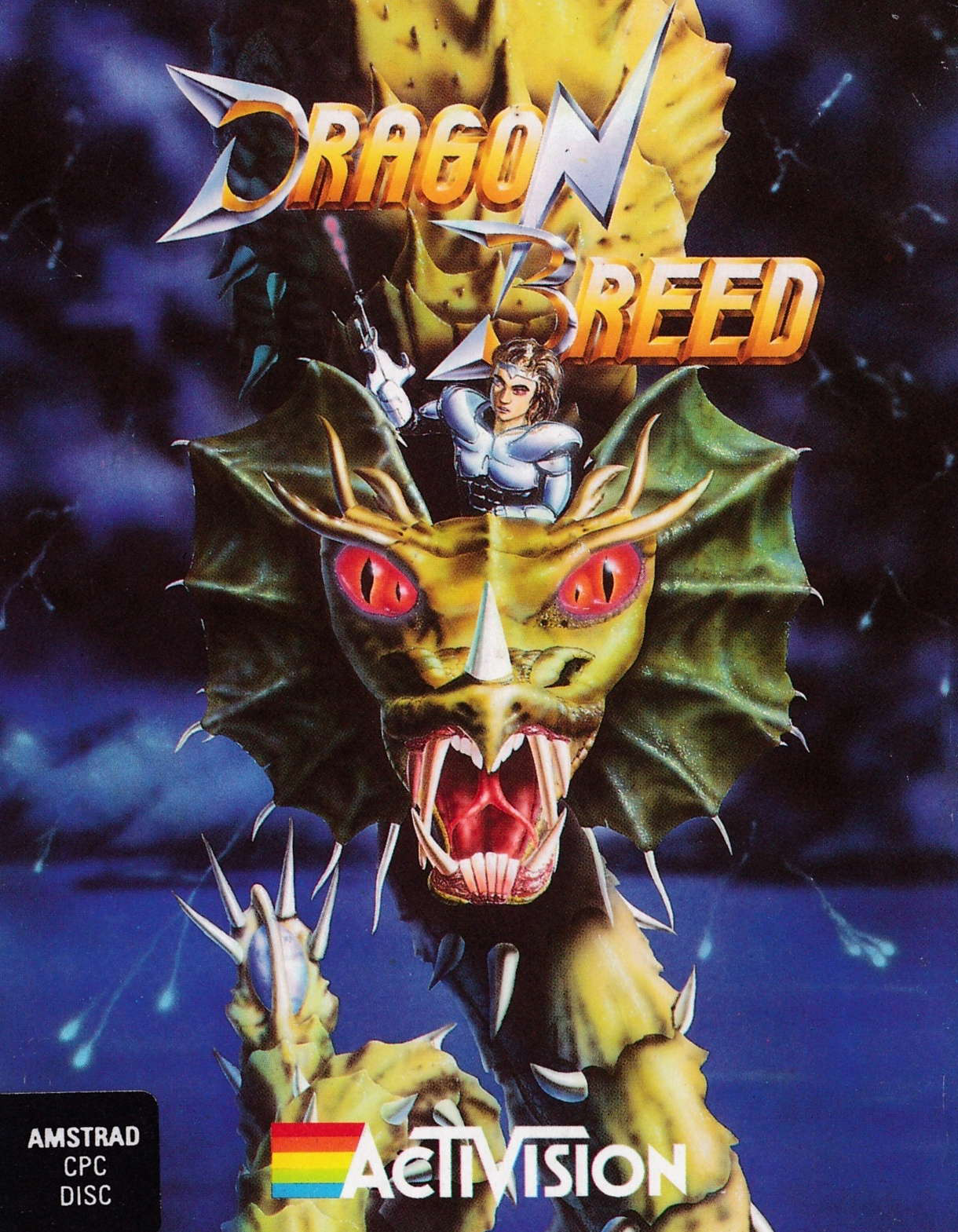 cover of the Amstrad CPC game Dragon Breed  by GameBase CPC