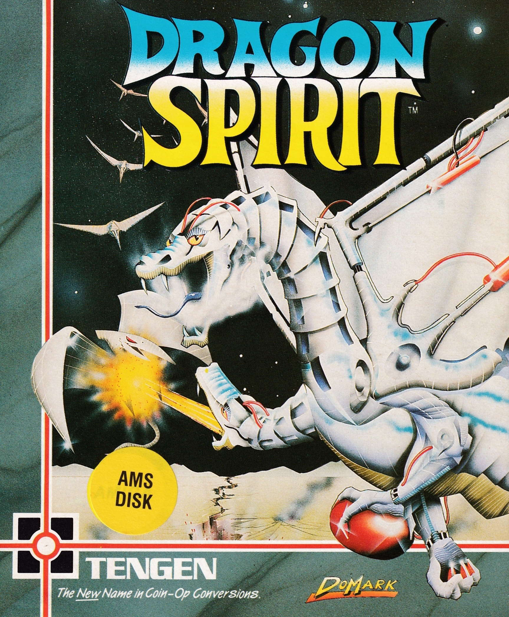 cover of the Amstrad CPC game Dragon Spirit  by GameBase CPC