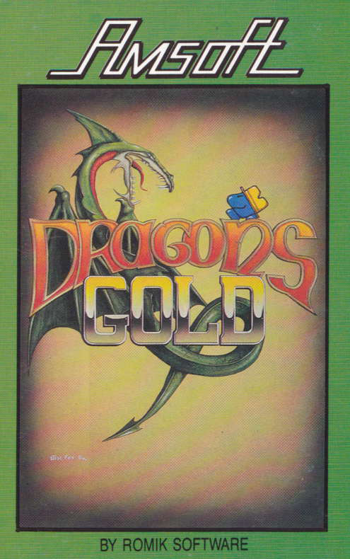 cover of the Amstrad CPC game Dragon's Gold  by GameBase CPC