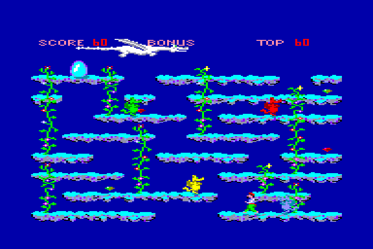 screenshot of the Amstrad CPC game Dragons by GameBase CPC