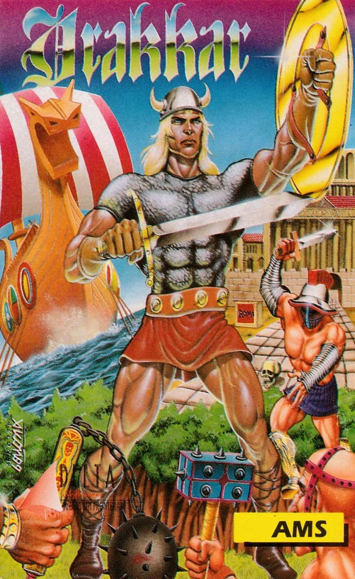 cover of the Amstrad CPC game Drakkar  by GameBase CPC