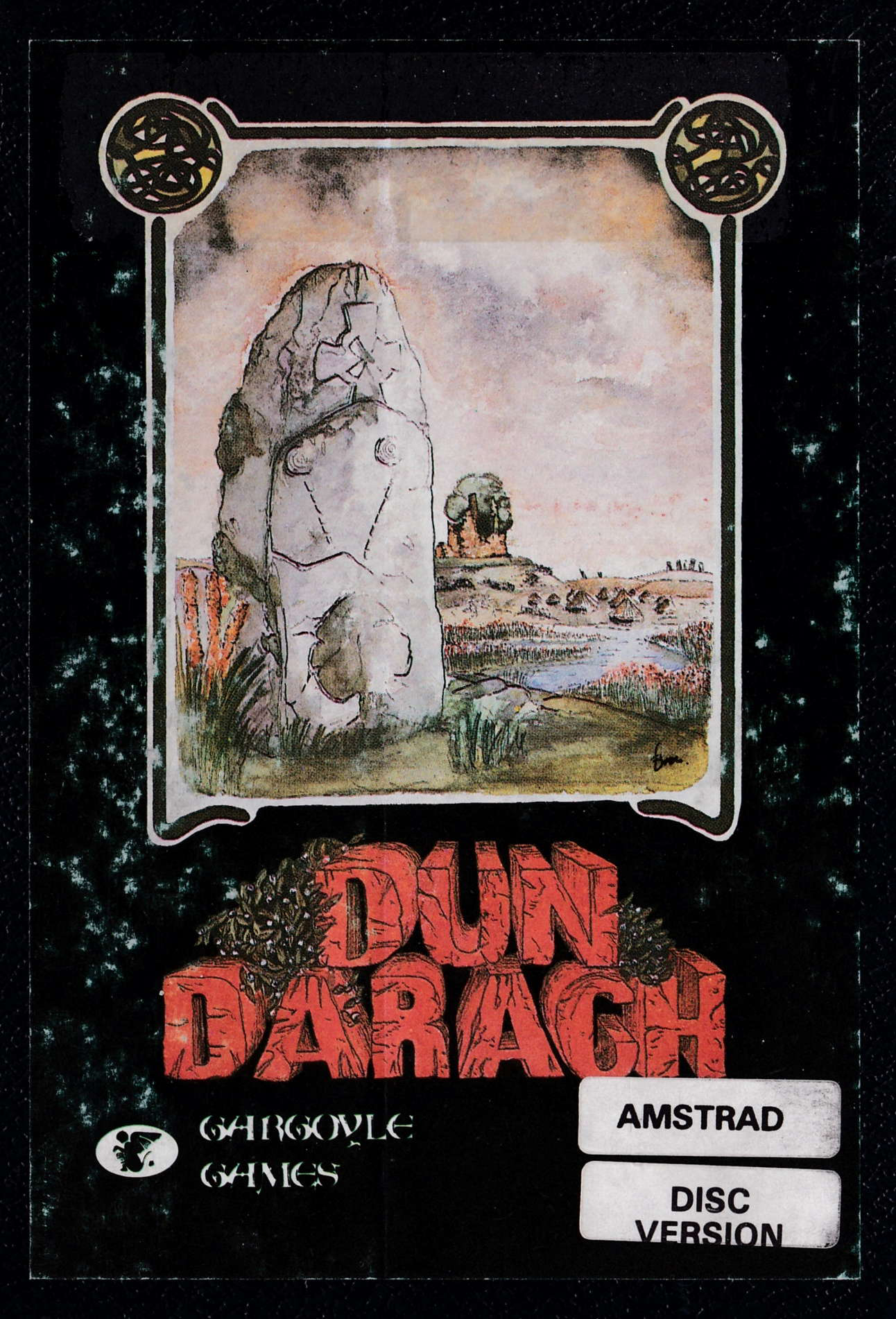 cover of the Amstrad CPC game Dun Darach  by GameBase CPC