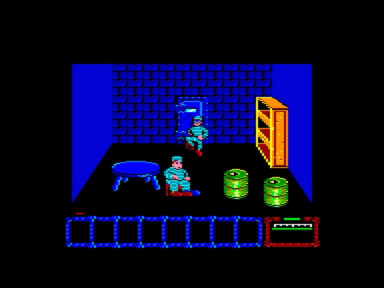 screenshot of the Amstrad CPC game Dustin by GameBase CPC