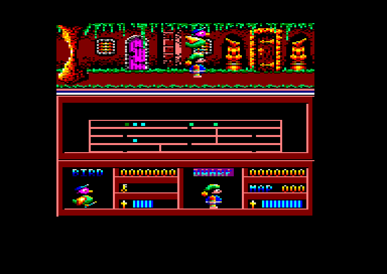 screenshot of the Amstrad CPC game Dynamic duo by GameBase CPC